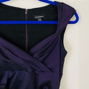 Le Chateau Purple Dress